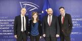 Aus aktuellen Anlass ein Rückblilck: Schulz und Naef - Treffen in Brüssel
